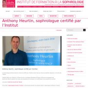 Anthony Heurtin sophrologue formé sophrologie rncp diplome angers brain professionnel relaxation detente stress angoisses douleurs sommeil anxiete