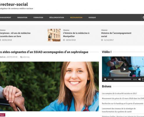 Angers Blog directeur social Anthony Heurtin sophrologue sophrologie bien etre travail aides soignants malade